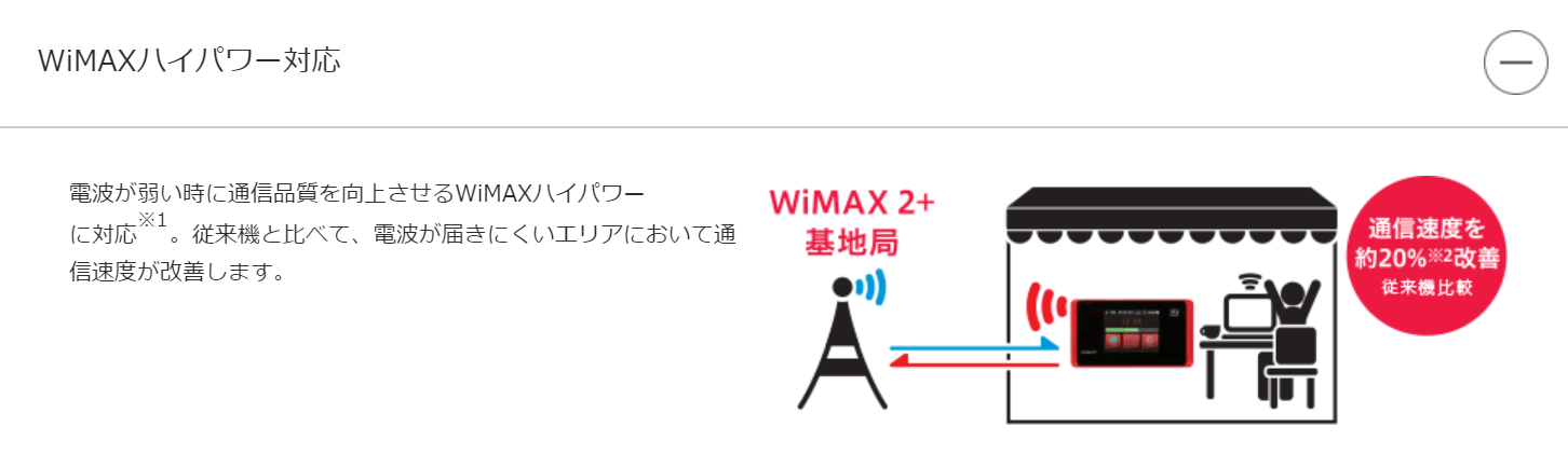 WX05 新機能
